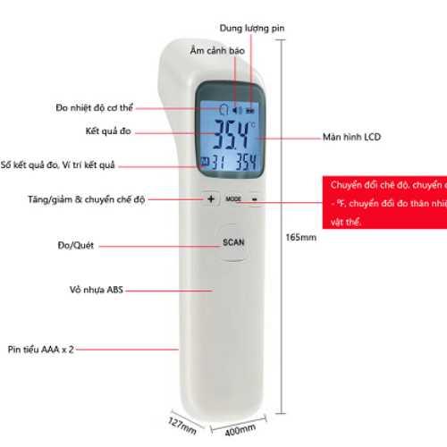 Nhiệt kế giá rẻ Thermometer CK- T1502