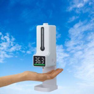 Bình phun khử khuẩn tích hợp đo nhiệt độ